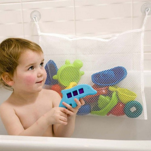 Покупка  Органайзер для детских игрушек Toys bag Medium на присосках в ванную в  Интернет-магазин Zelenaya Vorona™