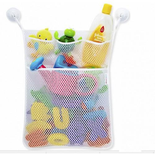 Органайзер для детских игрушек Toys bag Large на присосках в ванную  в  Интернет-магазин Zelenaya Vorona™ 1