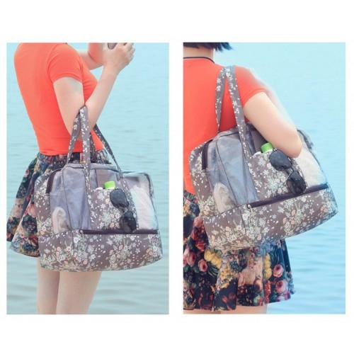 Пляжная сумка Weekeight Кофе Дейзи  в  Интернет-магазин Zelenaya Vorona™ 2