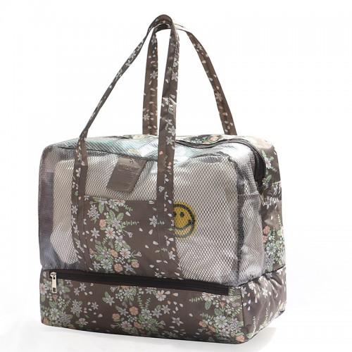 Покупка  Пляжная сумка Weekeight Кофе Дейзи в  Интернет-магазин Zelenaya Vorona™