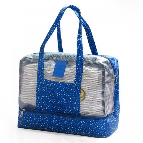 Покупка  Пляжная сумка Weekeight Звезды. Темно-синий в  Интернет-магазин Zelenaya Vorona™