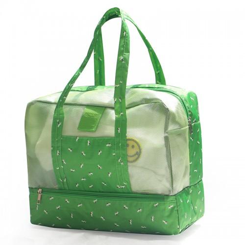 Покупка  Пляжная сумка Weekeight Далматин. Зеленый в  Интернет-магазин Zelenaya Vorona™