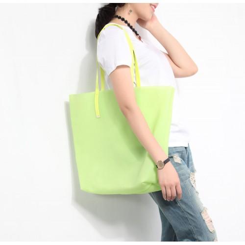 Покупка  Пляжная сумка силиконовая. Лайм в  Интернет-магазин Zelenaya Vorona™
