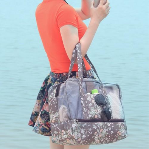 Пляжная сумка Weekeight Кофе Дейзи  в  Интернет-магазин Zelenaya Vorona™ 1