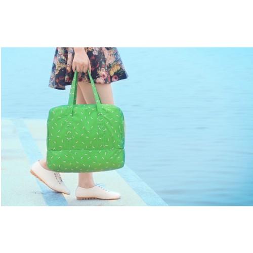 Пляжная сумка Weekeight Далматин. Зеленый  в  Интернет-магазин Zelenaya Vorona™ 1