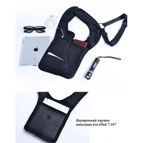 Сумка скрытого ношения для документов с внутренним карманом  в  Интернет-магазин Zelenaya Vorona™ 2