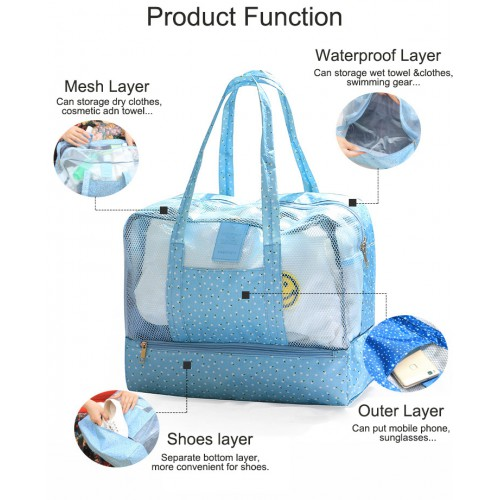 Пляжная сумка Weekeight Звезды. Темно-синий  в  Интернет-магазин Zelenaya Vorona™ 6
