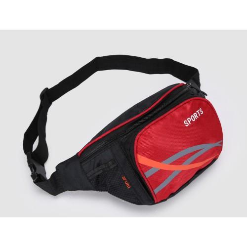 Покупка  Сумка на пояс для спорта и отдыха. Красный в  Интернет-магазин Zelenaya Vorona™