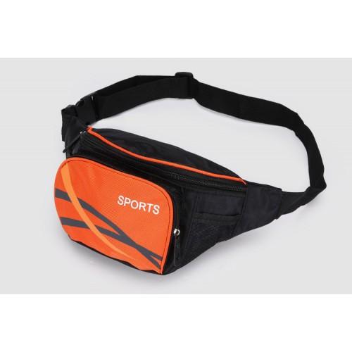 Покупка  Сумка на пояс для спорта и отдыха. Оранжевый в  Интернет-магазин Zelenaya Vorona™