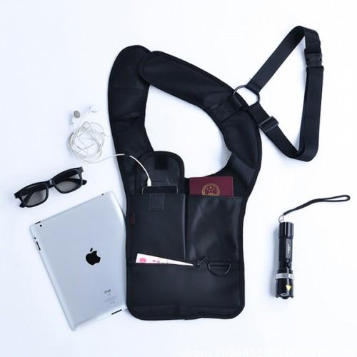 Покупка  Сумка скрытого ношения для документов с внутренним карманом в  Интернет-магазин Zelenaya Vorona™