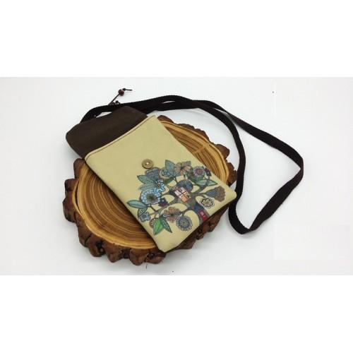 Покупка  Женская сумка-кошелек Fantasy текстильная в  Интернет-магазин Zelenaya Vorona™