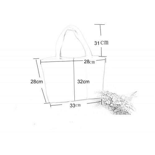 Летняя текстильная сумка. Светло-бежевая  в  Интернет-магазин Zelenaya Vorona™ 6