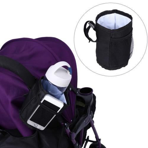 Покупка  Термо Подстаканник для детской коляски Stroller Bottle Pocket в  Интернет-магазин Zelenaya Vorona™