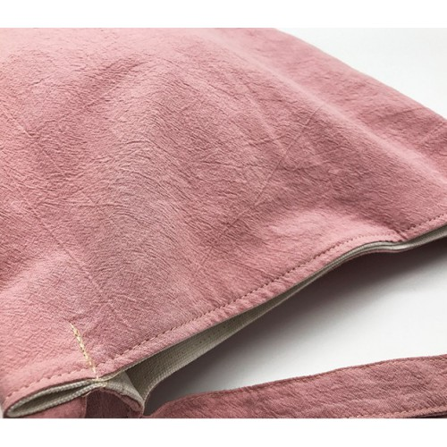 Летняя текстильная сумка. Светло-розовая  в  Интернет-магазин Zelenaya Vorona™ 3
