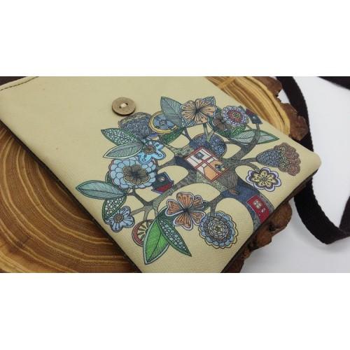 Женская сумка-кошелек Fantasy текстильная  в  Интернет-магазин Zelenaya Vorona™ 2