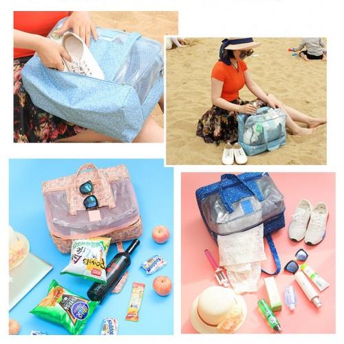 Пляжная сумка Weekeight Далматин. Зеленый  в  Интернет-магазин Zelenaya Vorona™ 2