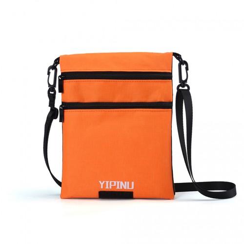 Покупка  Дорожный кошелек на шею YIPINU. Оранжевый/Черный в  Интернет-магазин Zelenaya Vorona™