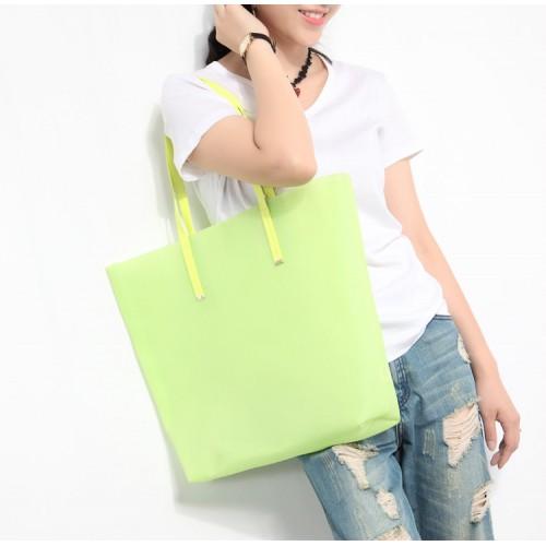 Пляжная сумка силиконовая. Лайм  в  Интернет-магазин Zelenaya Vorona™ 1