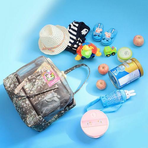 Пляжная сумка Weekeight Кофе Дейзи  в  Интернет-магазин Zelenaya Vorona™ 3