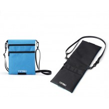 Дорожный кошелек на шею YIPINU. Синий/Черный