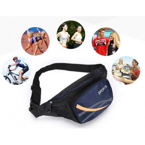 Сумка на пояс для спорта и отдыха. Красный  в  Интернет-магазин Zelenaya Vorona™ 1