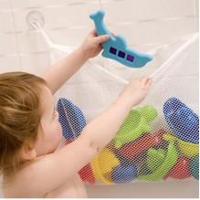 Органайзер для детских игрушек на присосках в ванную. Toys bag Medium