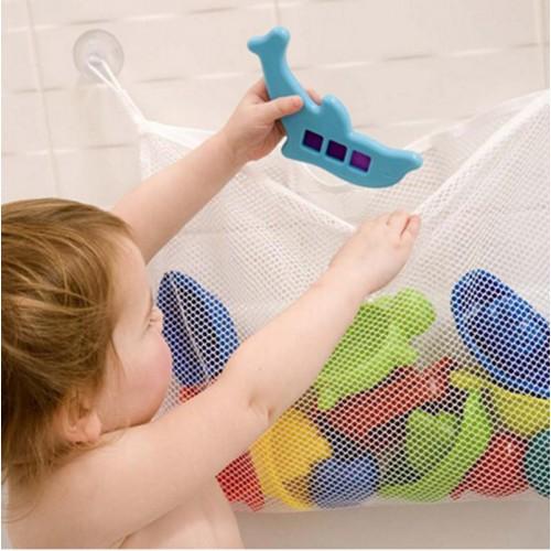 Органайзер для детских игрушек Toys bag Medium на присосках в ванную  в  Интернет-магазин Zelenaya Vorona™ 1