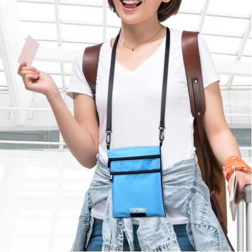 Дорожный кошелек на шею YIPINU. Красный/Черный  в  Интернет-магазин Zelenaya Vorona™ 3