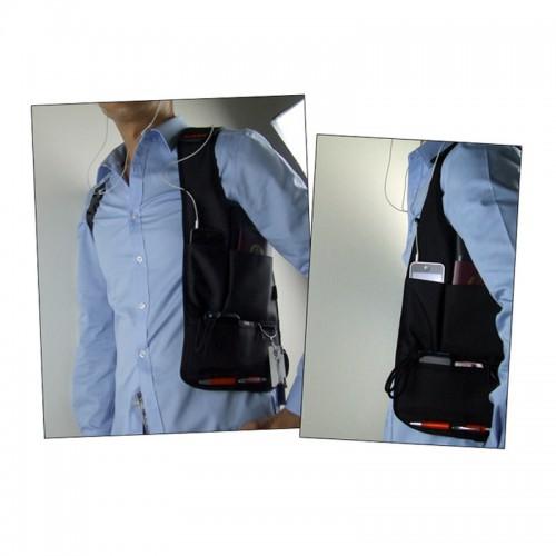 Сумка скрытого ношения для документов с внутренним карманом  в  Интернет-магазин Zelenaya Vorona™ 4