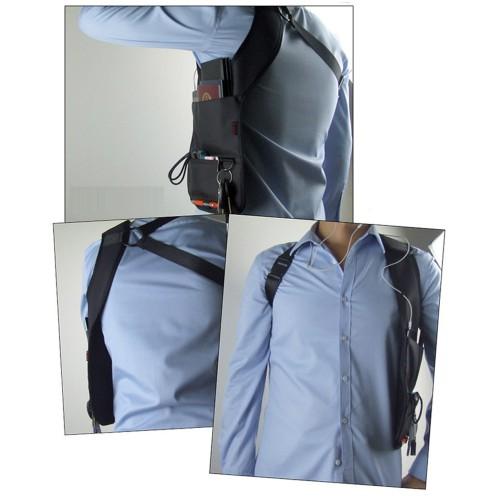 Сумка скрытого ношения для документов с внутренним карманом  в  Интернет-магазин Zelenaya Vorona™ 5