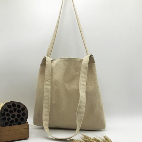 Покупка  Летняя текстильная сумка. Светло-бежевая в  Интернет-магазин Zelenaya Vorona™