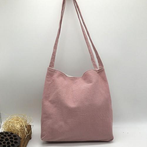 Покупка  Летняя текстильная сумка. Светло-розовая в  Интернет-магазин Zelenaya Vorona™
