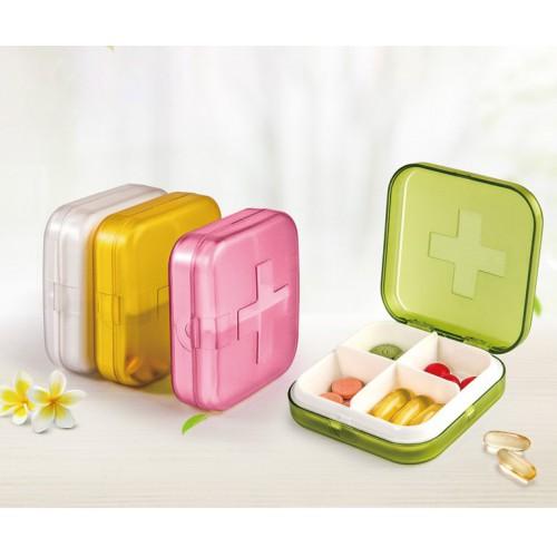 Карманная таблетница Pocket Pill Case Mini. Зеленый  в  Интернет-магазин Zelenaya Vorona™ 3