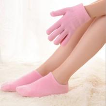 """Гелевые носки и гелевые перчатки увлажняющие """"Gel SPA"""" (набор)"""