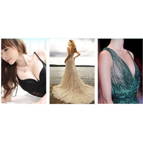 Силиконовые накладки на грудь в форме цветка   в  Интернет-магазин Zelenaya Vorona™ 2