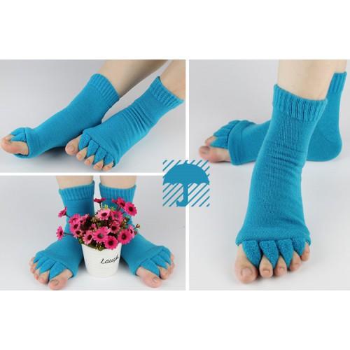 Теплые носки-растопырки для педикюра  в  Интернет-магазин Zelenaya Vorona™ 1