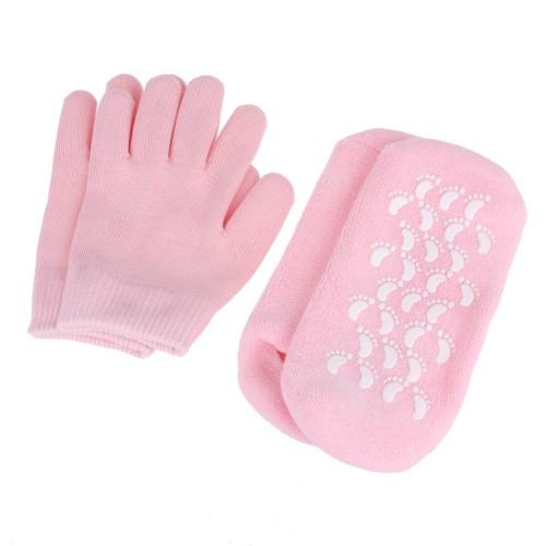 """Гелевые носки и гелевые перчатки увлажняющие """"Gel SPA"""" (набор)  в  Интернет-магазин Zelenaya Vorona™ 3"""