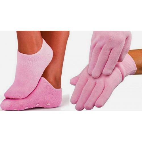 """Гелевые носки и гелевые перчатки увлажняющие """"Gel SPA"""" (набор)  в  Интернет-магазин Zelenaya Vorona™ 1"""