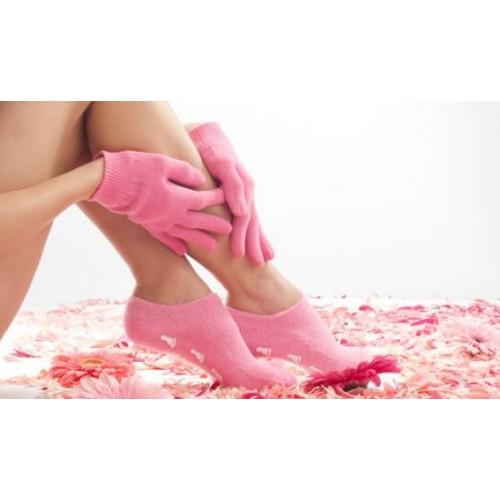 """Гелевые носки и гелевые перчатки увлажняющие """"Gel SPA"""" (набор)  в  Интернет-магазин Zelenaya Vorona™ 2"""
