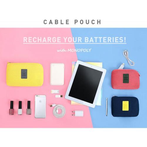 Органайзер для зарядок и прочих мелочей Monopoly Cable Pouch  в  Интернет-магазин Zelenaya Vorona™ 1