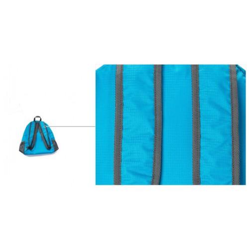 Складной рюкзак для путешествий (серый)  в  Интернет-магазин Zelenaya Vorona™ 10