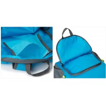 Складной рюкзак для путешествий (серый)