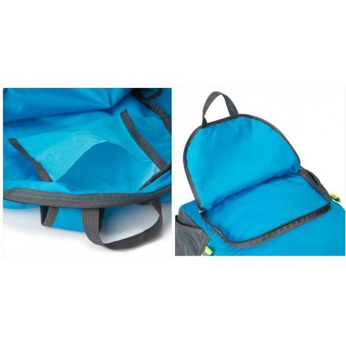 Складной рюкзак для путешествий (серый)  в  Интернет-магазин Zelenaya Vorona™ 6