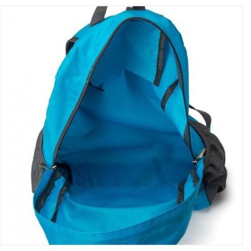 Складной рюкзак для путешествий (серый)  в  Интернет-магазин Zelenaya Vorona™ 7