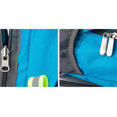Складной рюкзак для путешествий (серый)  в  Интернет-магазин Zelenaya Vorona™ 8