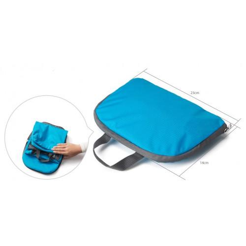 Складной рюкзак для путешествий (серый)  в  Интернет-магазин Zelenaya Vorona™ 4