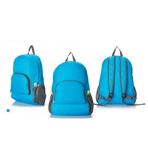 Складной рюкзак для путешествий (серый)  в  Интернет-магазин Zelenaya Vorona™ 2