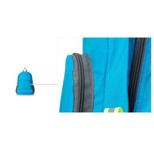 Складной рюкзак для путешествий (серый)  в  Интернет-магазин Zelenaya Vorona™ 11