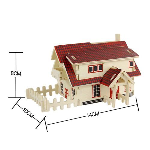 3D Деревянный конструктор. Модель Ранчо  в  Интернет-магазин Zelenaya Vorona™ 1