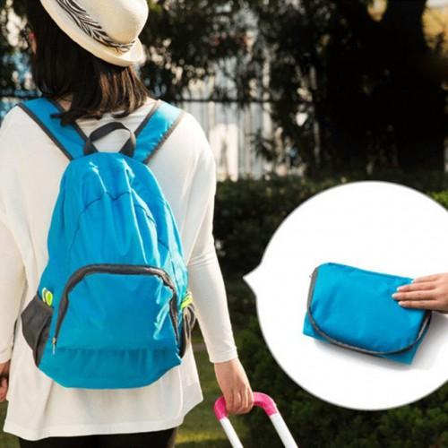 Покупка  Складной рюкзак для путешествий (серый) в  Интернет-магазин Zelenaya Vorona™